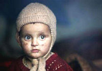 Pakistan Kashmir earthquake children