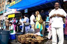 A Pakistani town market shop